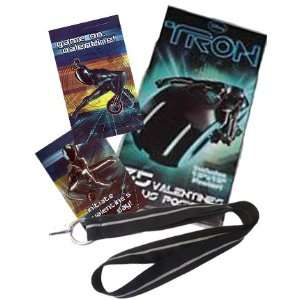 Disney TRON Legacy School Valentines Cards  Lanyard and Poster