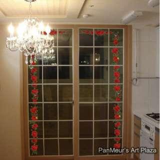 CP 47 Rambling Rose, Decals Decor Home Art Wall Sticker