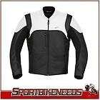 Alpinestars Helius White Black Leather Motorcycle Street Jacket 2XL