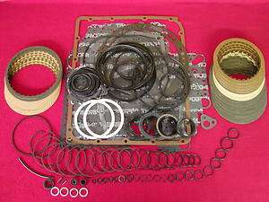 RL/RE4R01A TRANSMISSION MASTER REBUILD KIT 2WD 1989 92