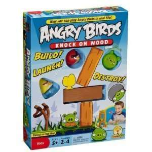 Angry Birds Knock On Wood Game #1 Board Game