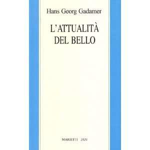 Saggi di estetica ermeneutica (9788821186288) Hans G. Gadamer Books