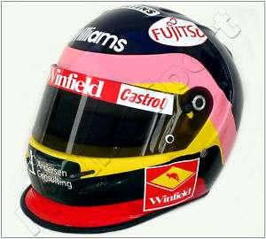 JACQUES VILLENEUVE F1 1998 REPLICA HELMET SCALE 11