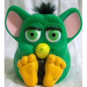 Happy Meal Furby Baby, 5 Green Yellow and Pink Doll Toy: Toys & Games