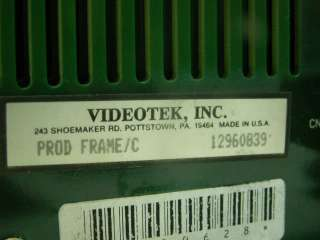 Videotek Prodigy C Switcher/Mixer 8 Input