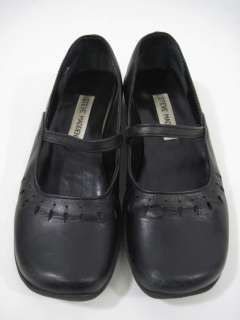 STEVE MADDEN Black Mary Janes Shoes Sz 5.5