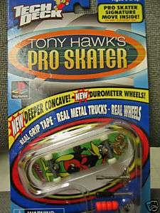 TECH DECK TONY HAWKS PRO SKATER BIRD HOUSE BUCKY LASEK 648465035344
