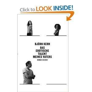 Das erotische Talent meines Vaters (9783406598371): Björn Kern: Books