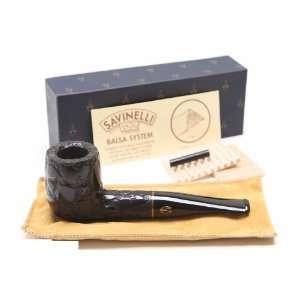 Savinelli Alligator Black 101 Tobacco Pipe