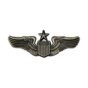 Large Army/Air Force Senior Pilot Badge/Hat Pin: Everything Else