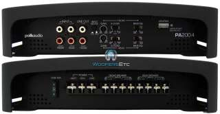 PA200.4 POLK AUDIO AMP 4 2 CHANNEL 320W SPEAKERS COMPONENTS TWEETERS
