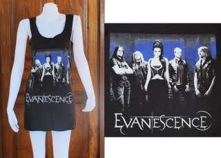 Evanescence Amy Lee Rock Roll Pop Art o WOMEN T SHIRT DRESS Tank TOP