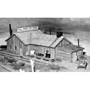 Campbell Scale Models HO Iron Foundry Kit Toys & Games