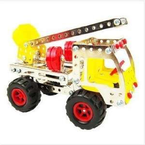 shipping diy assembly intelligence toys aerial ladder