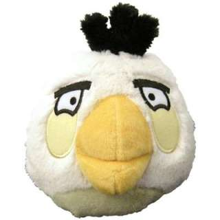 Angry Birds 5 Plush With Sound   White