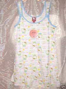 NEW Hello KITTY Pajamas PAJAMA girls Juniors MEDIUM