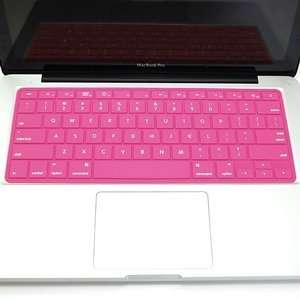 Cosmos ® Quality Pink Solid Pure Silicone Keyboard cover