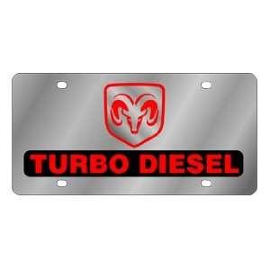 Dodge Ram Turbo Diesel License Plate Automotive