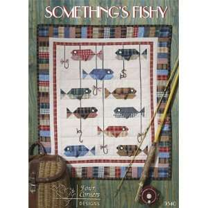 Somethings Fishy   Quilting Pattern for 24 x 26   FB