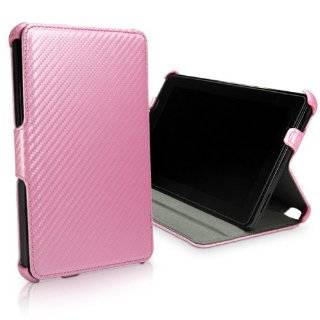 BoxWave Satin Pink Leather Kindle Fire Book Jacket   Pink Twilled