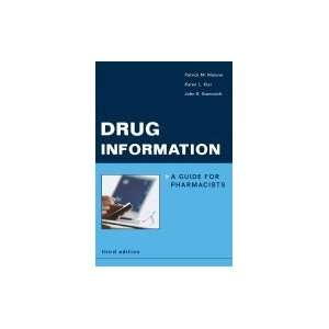 Drug Information  Guide for Pharmacists 3RD EDITION