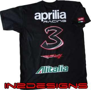 Max Biaggi inspired Tshirt Aprilia