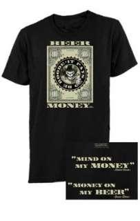 Official TNA Wrestling Beer Money Dollar Bill T Shirt