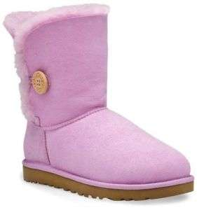 UGG BAILEY BUTTON ORCHID BLOOM BOOT WOMEN 6 7 8 9 & 10