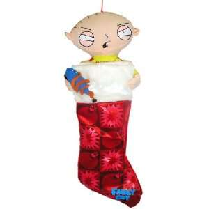 21 Family Guy Stewie Griffin With Ray Gun Plush Christmas