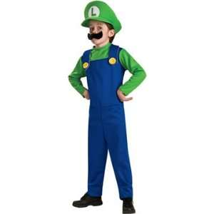 Super Mario Brothers Luigi Costume Boy Toys & Games