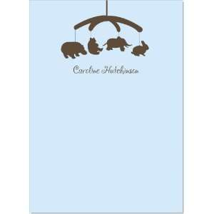 Baby Animal Mobile Blue Notes: Baby