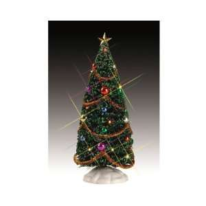 Village Collection 9 Decorated Yule Tree #54365 Home & Kitchen