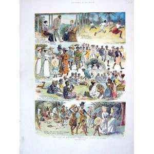 1905 BRITISH RESIDENT BUNGA TUNGA NATIVES PICNIC TONGA