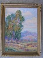 American NV CA Listed Nevada Wilson Framed Oil Painting Landscape