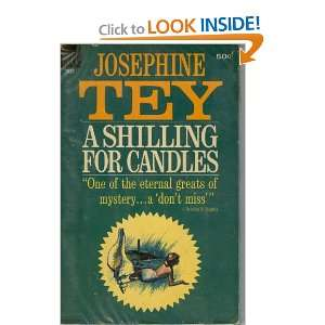 A shilling for candles (Dell): Josephine Tey: Books