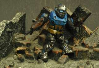 Custom Gears of War Mega Bloks Carmine Cog Soldier