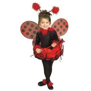 Lady Bug Child Costume Small