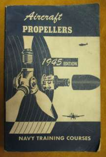 US Navy Manual Airplane Propeller Asbestos Insulation