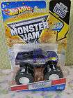 Hot Wheels, Monster Jam, BACKWARDS BOB, with Grave Digger Poster items