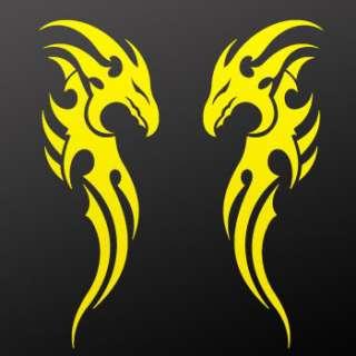 Tribal tattoo design Decal Sticker Dragon Art WRSX3