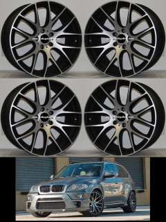 20 MONZA WHEELS FITS BMW E70 E71 X5 X6 RIMS NEW SET OF 4 20X8.5