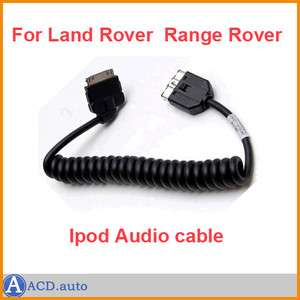 iPHONE/ iPOD OEM AUDIO interface adapter CABLE LR4 Range Rover Sport
