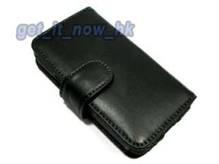 New Book Type Real Flip Genuine Leather Case Cover For HTC EVO 3D