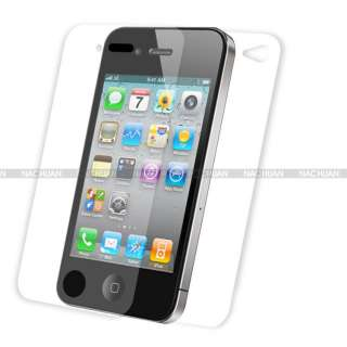 1PC FULL BODY Front + Back Clear LCD Screen Protector Cover For iPhone