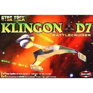 Star Trek Klingon D7 Battlecruiser Model Kit: Toys & Games