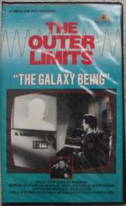 Outer Limits   The Galaxy Being (VHS, 1963 Cliff Robertson Free
