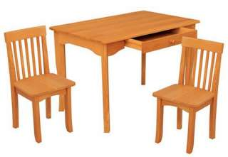 KidKraft Avalon Kids Table & Two Chairs Set (Honey)