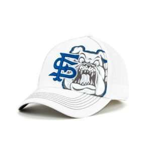 Fresno State Bulldogs Top of the World NCAA Big Ego Whiteout Cap Hat