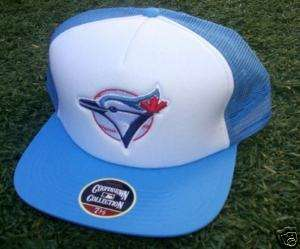 Toronto Blue Jays Fitted Trucker Style hat cap Size 7