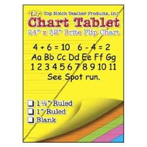Chart Tablets 24X32 Assorted Blank: Toys & Games